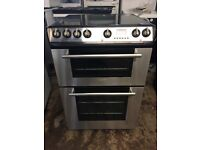 Hotpoint EW85 60cm Double Electric Cooker in Black #4148