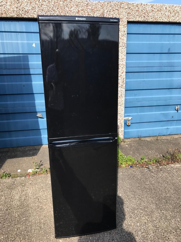 Hotpoint Fridge Freezer 6Ft Black