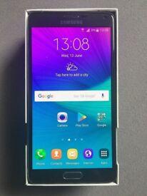 Samsung Note 4 unlocked 32GB. Black unlocked