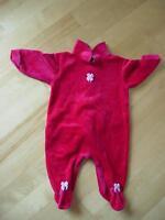Pyjama rouge de marque Coccoli, fabriqué au Canada - 3 mois
