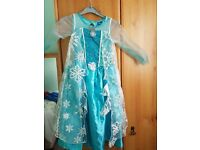 Disney Elsa Frozen Dress age 4-5 years never been worn