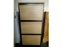 Filing Cabinet - Wooden - 3 Drawer - Excellent Condition