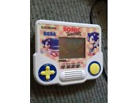 Electronic Sega sonic the hedgehog game / FOR SALE OR SWAPS