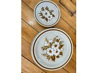Mountain ware - 2 dinner and 2 side plates