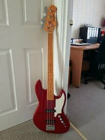 Eastcoast SBJ-50 Jazz Bass (Red)