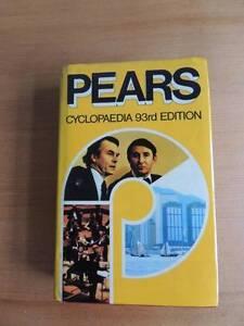 Pears Cyclopaedia 93rd Edition Launceston Launceston Area Preview