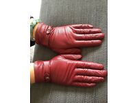 Real leather lady's gloves for sale