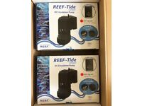 2x TMC Reef Tide Compact 6000lph dc circulation, Wave Maker!