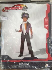 Beyblade costume age 3/4 years new