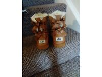Size 1 children's ugg boots like new