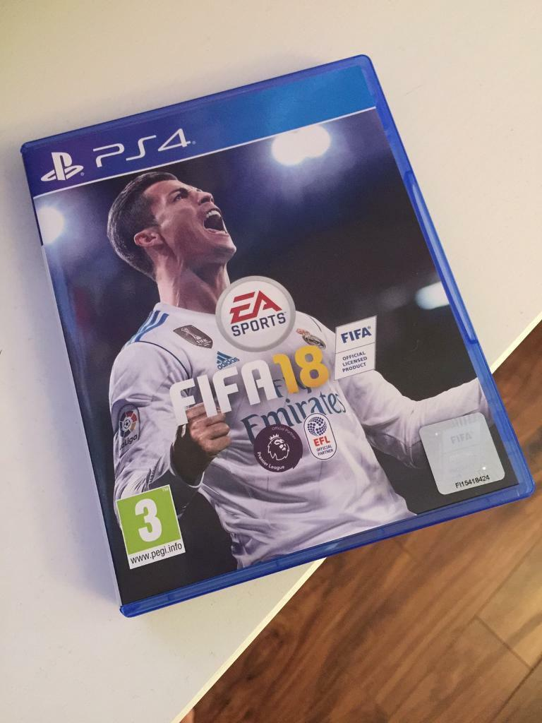 fifa 18 ps4 in whiteley hampshire gumtree. Black Bedroom Furniture Sets. Home Design Ideas