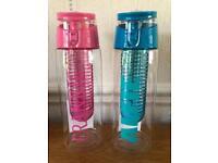 Personalised fruit fusion water bottles