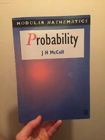 J H McColl Probability