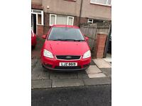 FORD C-MAX. 1.6 DIESEL GHIA LOW MILEAGE