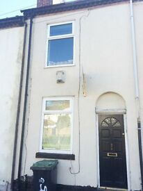 **LET BY**2 BEDROOM MID-TERRACED PROPERTY- HANLEY - DSS ACCEPTED-LOW RENT- NO DEPOSIT-PETS WELCOME