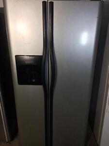 Frigidaire Double Door Fridge With Bottom Freezer and Ice & Water Maker, FREE WARRANTY