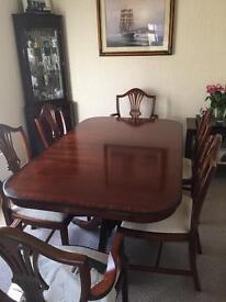 Stunning 6 chair dining room set