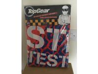 Single bed top gear stig cover