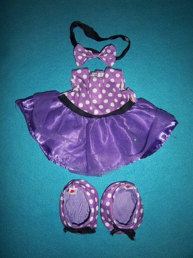 Design A Bear Purple Dress Outfit IP1