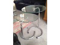 2 Piece Glass Coffee Table