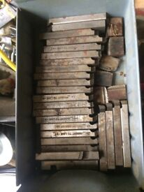 For sale Spares tools parts