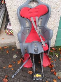 Baby/Toddler Bicycle Seat Carrier