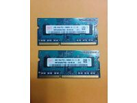 4 GB HYNIX LAPTOP MEMORY RAM APPLE MACBOOK PRO