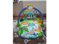Fisher price play mat baby gym