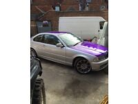 Bmw 320 coupe with the 2.2
