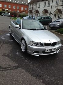 BMW 330ci facelift with sat-nav
