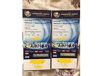 Pakistan vs South Africa 2 Silver Tickets Seats together