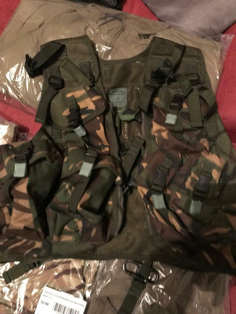 Military chest webbing kit