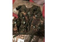 Military chest webbing kit