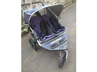 Out n About Nipper Double Buggy - £100