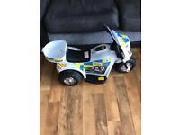 Battery Powered Police Trike