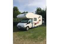 Ford Transit Euramobil VB675 Profile 4 berth motorhome with bunks