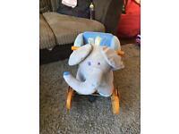 Labebe elephant rocker/ push along