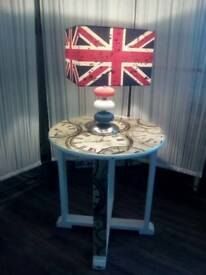 Final Reduction - Retro Lamp and Side Table