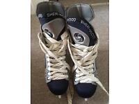 Hockey skates raptor shed-wood size U.K 5