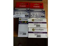 Canon Ink cartridges 521