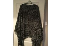 Animal print wrap from Next worn once