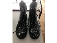 Original Dr Martens Black/White boots