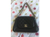 Authentic Chanel Accordion Flap Bag