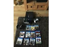 PS4 with 11 games,3 controllers and headset