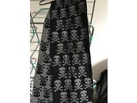 Unisex skull scarf
