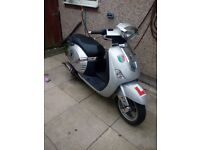 Lambretta moped scooter cheap mot offers
