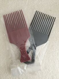2 New Afro Combs