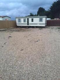 1bed static caravan for rent 450 pcm