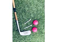 Old style hickory golf club , putter