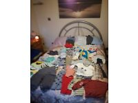 Large bundle of boys baby clothes